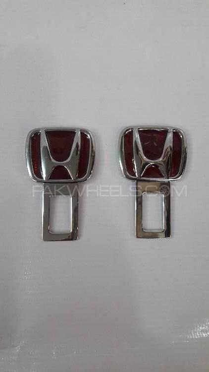 Seat Belt Buckle Honda Red  Image-1
