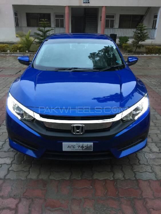 Honda Civic VTi Prosmatec 1.8 i-VTEC 2016 Image-1