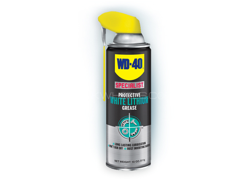 WD40 Protective White Lithium Grease - 400ml Image-1