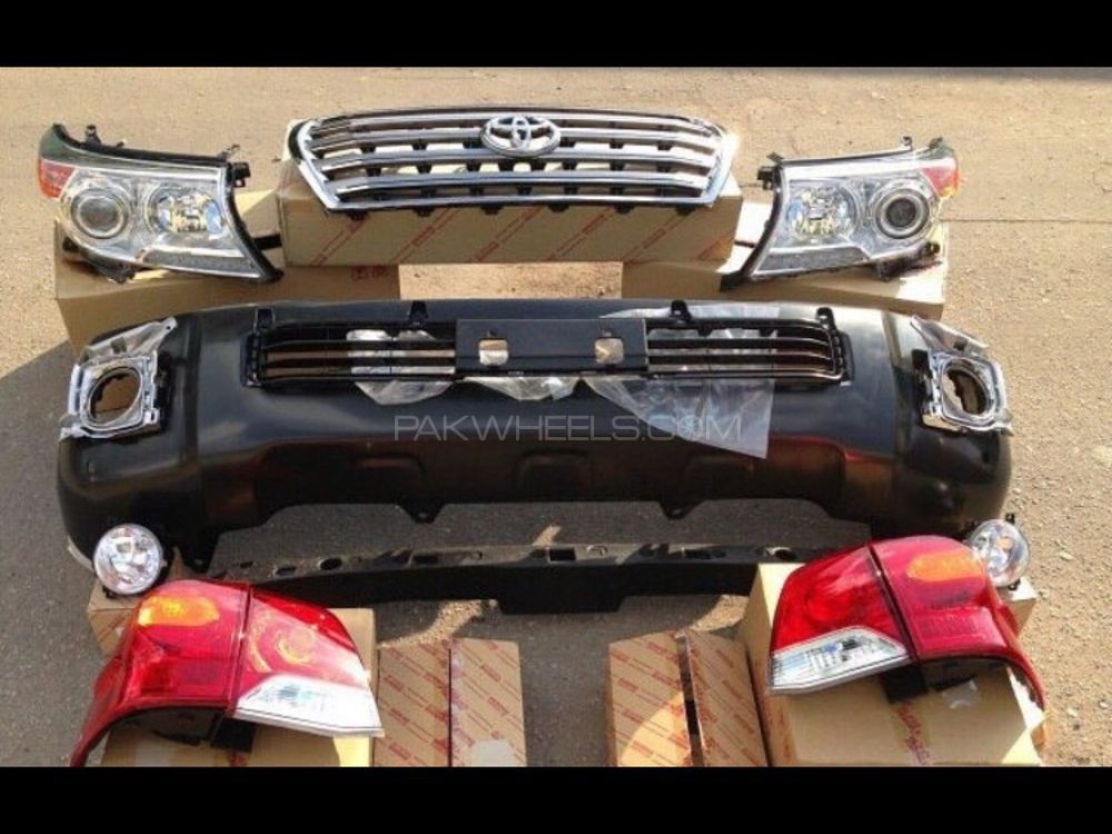 Land Cruiser faceuplift conversion parts available  Image-1