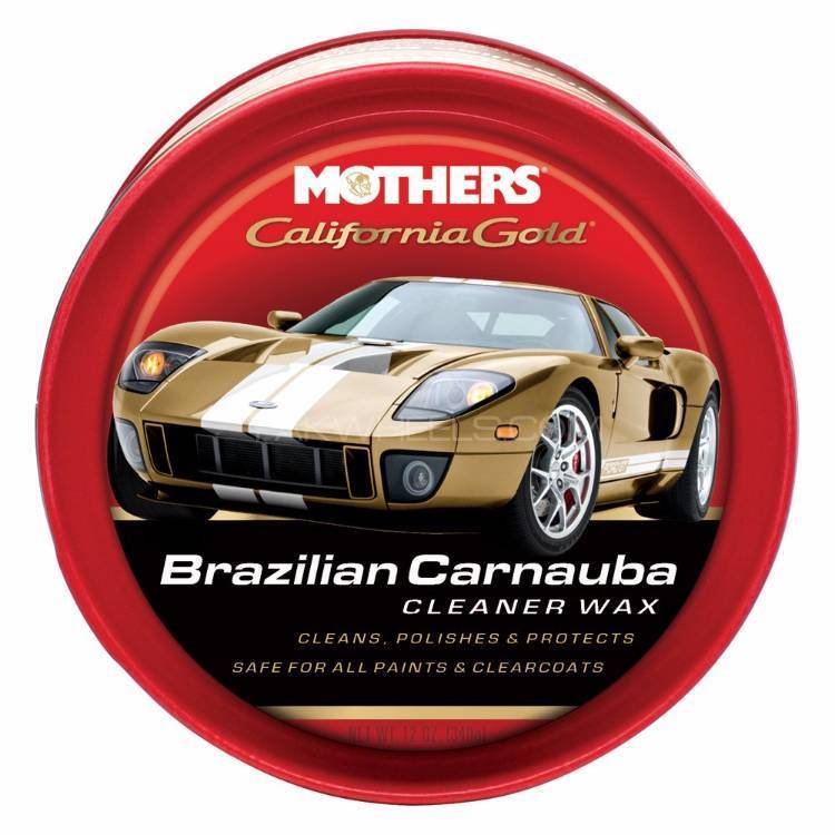 Mothers California Gold Original Cleaner Paste Wax - 12oz  Image-1