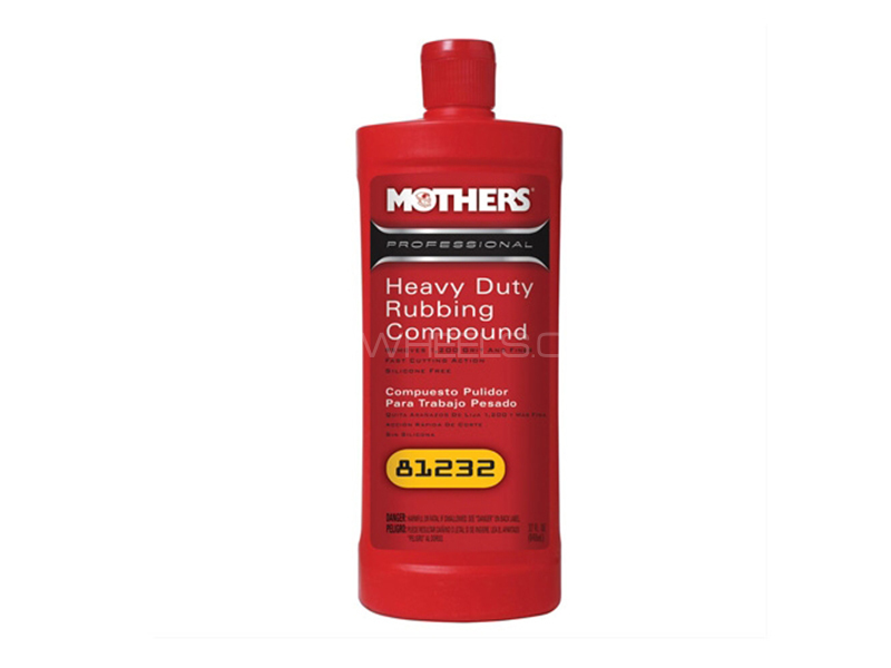 Mothers Heavy Duty Rubbing Compound - 32oz in Lahore