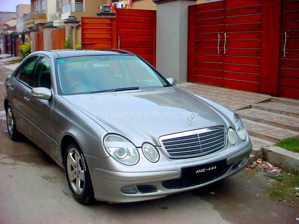 Mercedes benz e class e200 2003 for sale in lahore pakwheels for 2003 mercedes benz e class