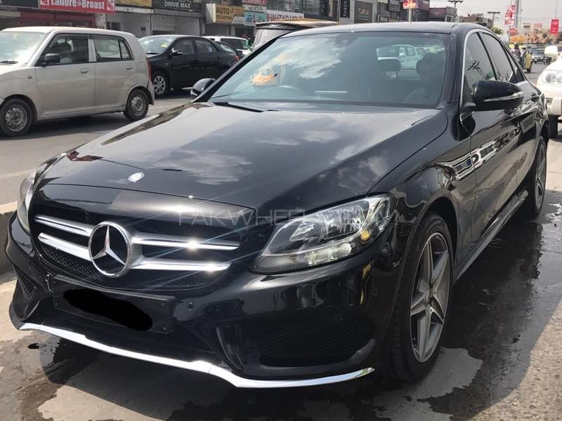 mercedes benz c class c180 amg 2015 for sale in lahore pakwheels. Black Bedroom Furniture Sets. Home Design Ideas