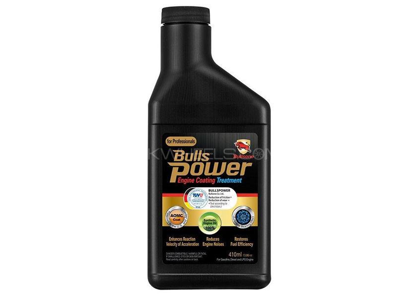 Bulls Power Engine Coating Treatment For Gasoline/Engine/LPG Engine - 410ml Image-1