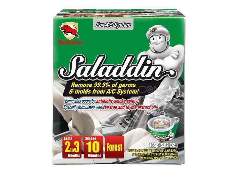 Bullsone Saladdin Car Fumigation Deodorizer For AC System - Forest Image-1