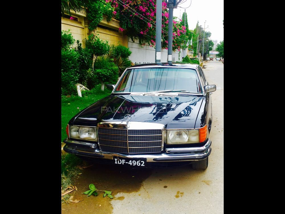 Mercedes benz s class s280 1975 for sale in karachi for Mercedes benz s280 for sale