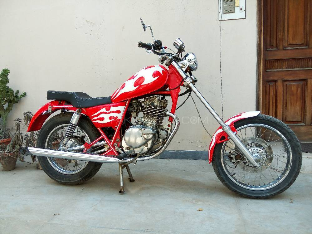 used suzuki gn 250 1992 bike for sale in lahore 184556. Black Bedroom Furniture Sets. Home Design Ideas