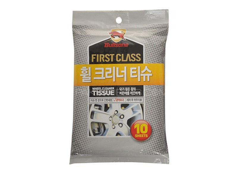 BULLSONE Firstclass Wheel Clean Wipes - 10 Pcs Image-1