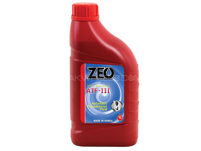 ZEO 1Ltr Fully Synthetic ATFlll Gear Oil - DEXRON lll in Lahore