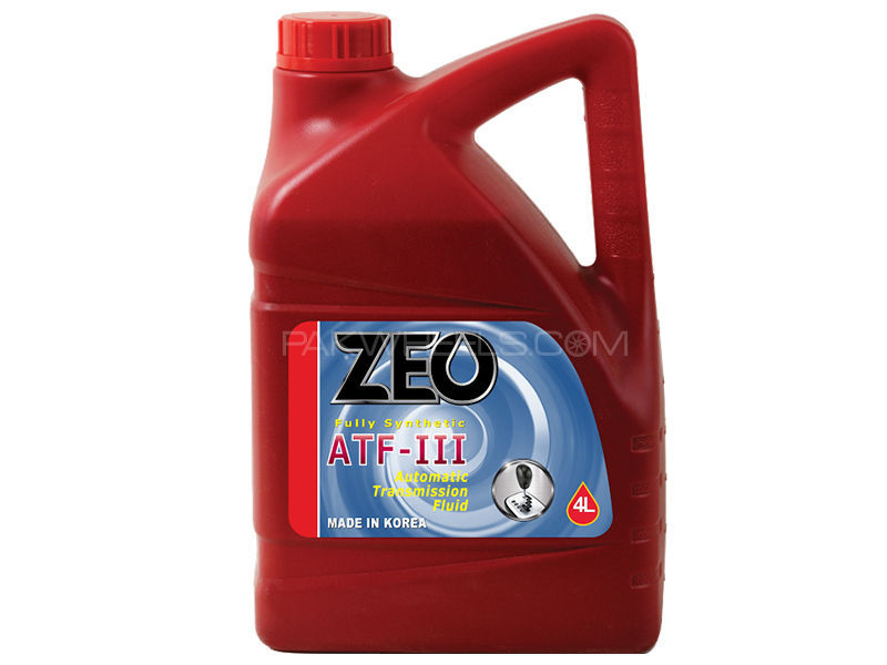 ZEO 4Ltr Fully Synthetic ATFlll Gear Oil - DEXRON lll in Lahore
