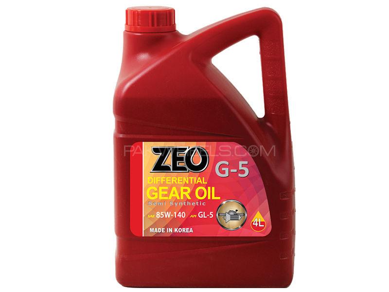 ZEO 4Ltr Synthetic Formula Gear Oil - GL5 85W140 GL5 in Lahore