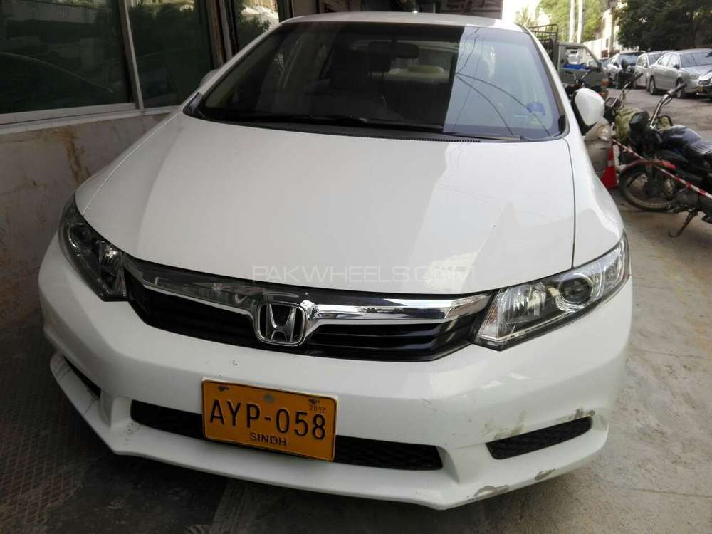 honda civic vti prosmatec 1 8 i vtec 2012 for sale in karachi pakwheels. Black Bedroom Furniture Sets. Home Design Ideas