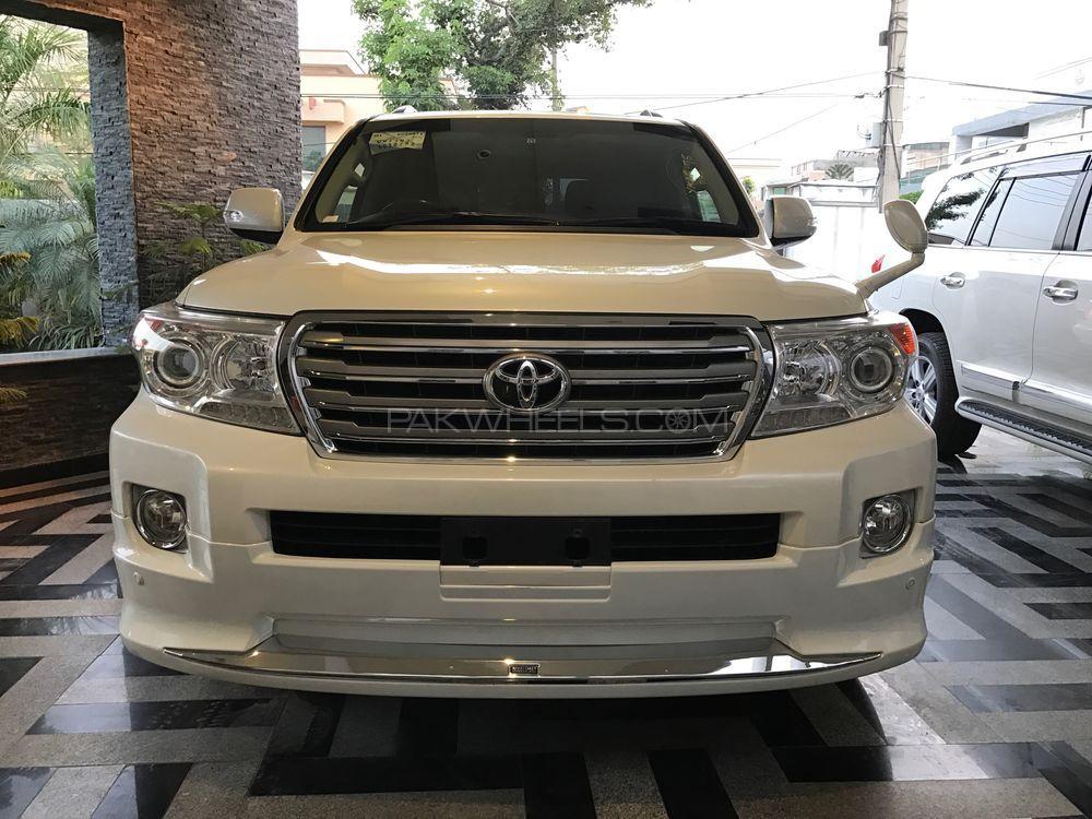 Toyota Land Cruiser AX G Selection 2012 Image-1