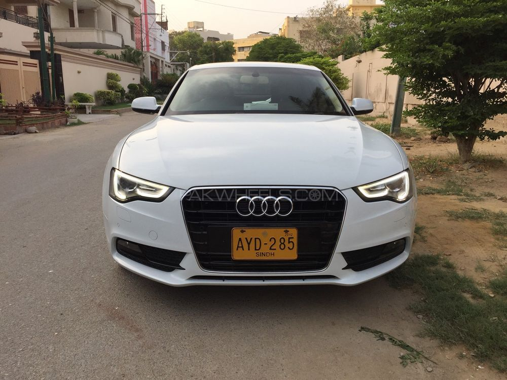 audi a5 1 8 tfsi 2012 for sale in karachi pakwheels. Black Bedroom Furniture Sets. Home Design Ideas