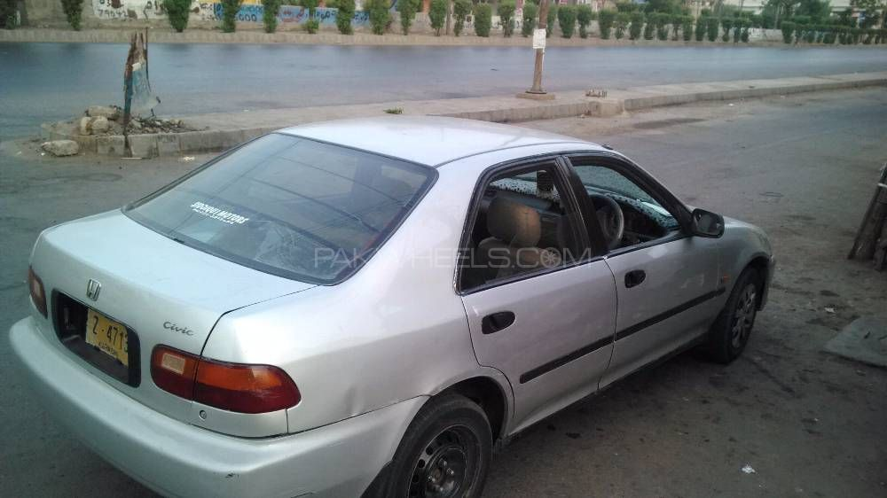Honda Civic Ex 1994 For Sale In Karachi Pakwheels