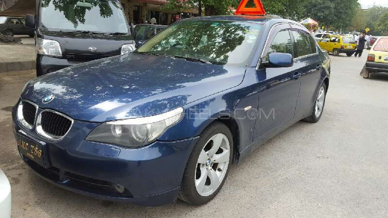 BMW 5 Series 530i 2004 for sale in Islamabad  PakWheels
