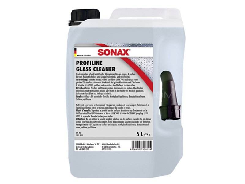 Sonax Profiline Glass Cleaner 5ltr in Lahore