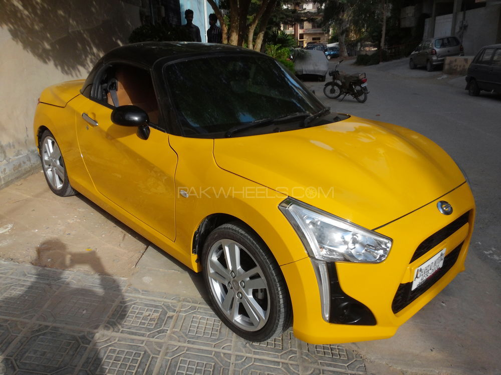 Daihatsu Copen Robe S 2015 For Sale In Karachi Pakwheels