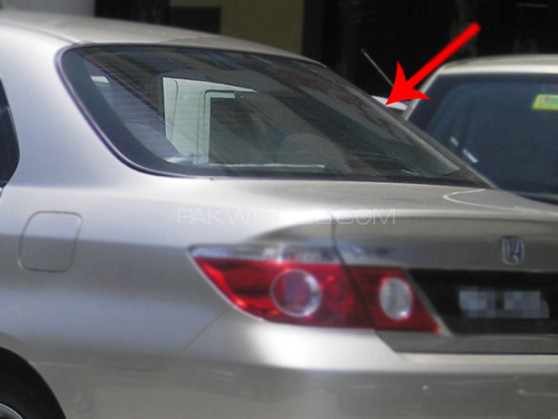 RearShield Honda City 2005 2008