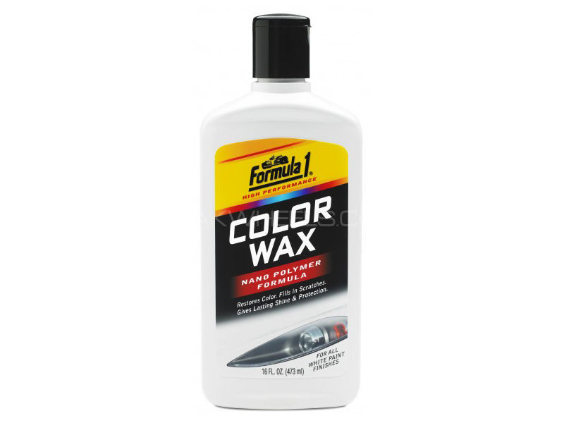 Formula 1 Color Wax - white in Lahore