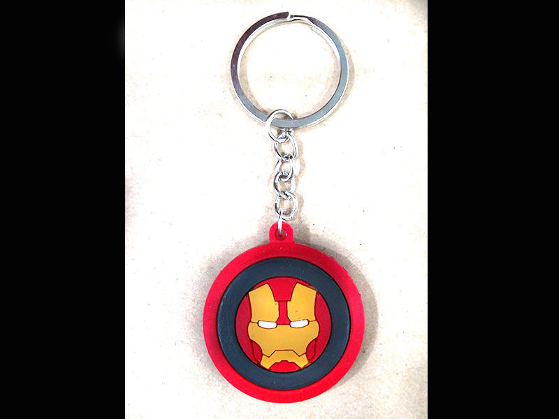 Iron Man rubber Key chain in Lahore