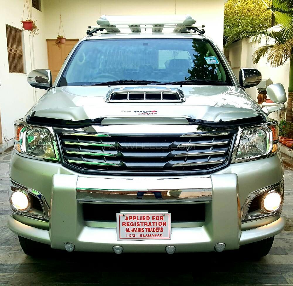 Olx Cars Rawalpindi Islamabad: Toyota Hilux D-4D 2013 For Sale In Islamabad