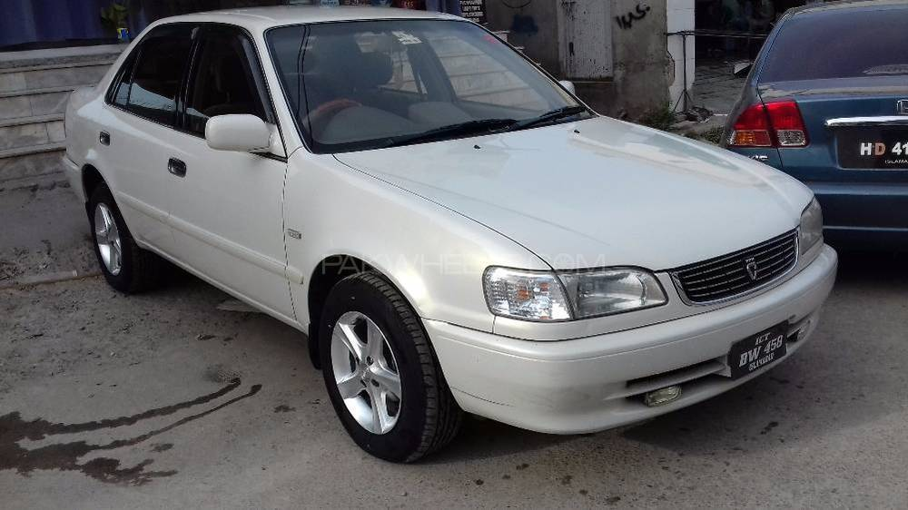 Toyota Corolla G 2000 For Sale In Peshawar Pakwheels