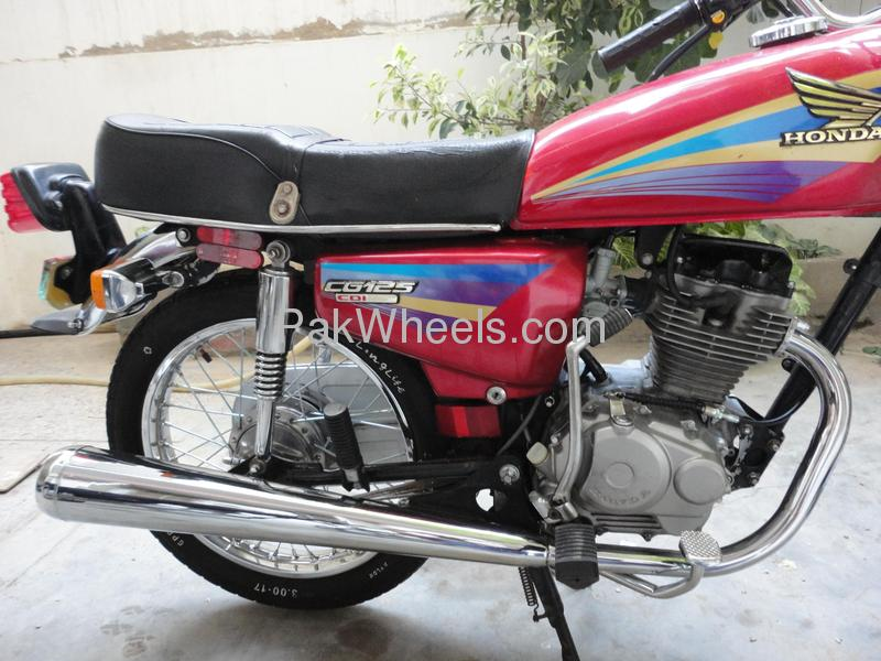Honda Cg125 New Model submited images.
