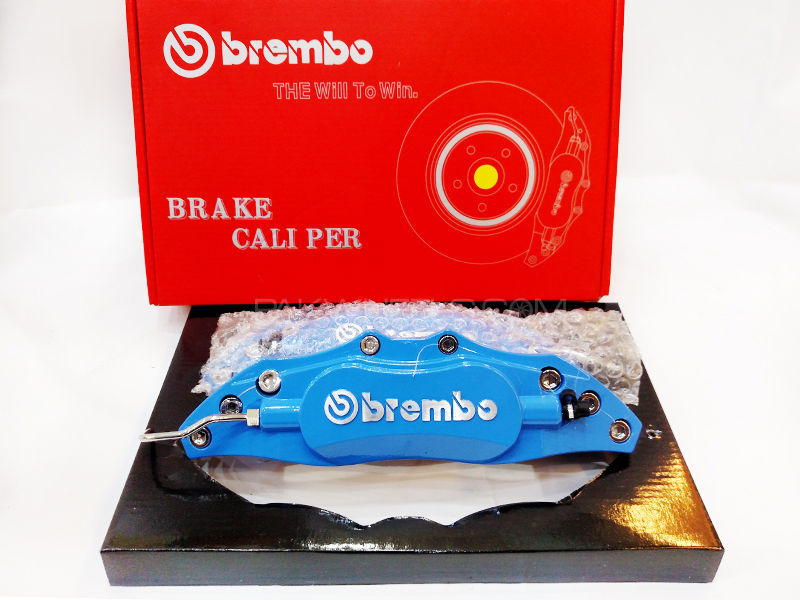Brembo Brake Covers Aluminium - Medium  in Lahore