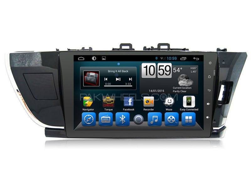 Android Tab Head Unit For Toyota Corolla 2015-2017 in Lahore