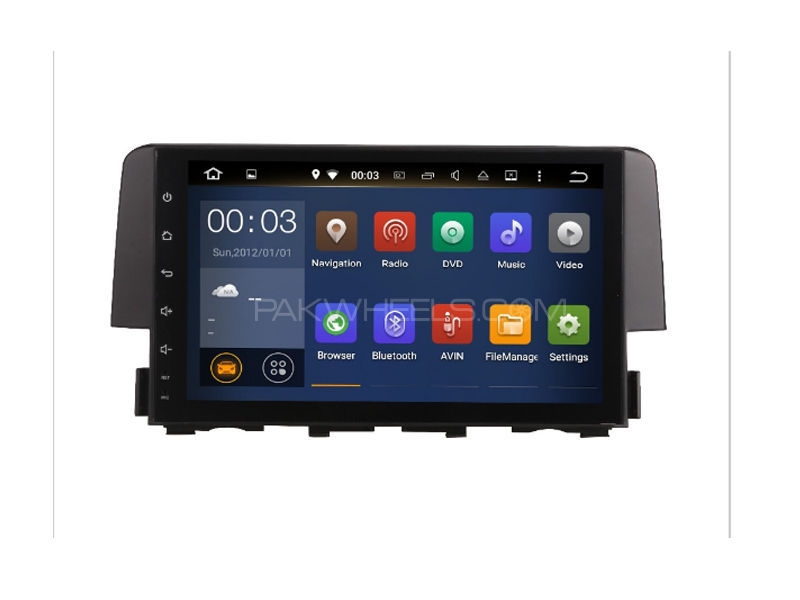 Premier Android Tab Head Unit for Civic 2016-2017 Image-1
