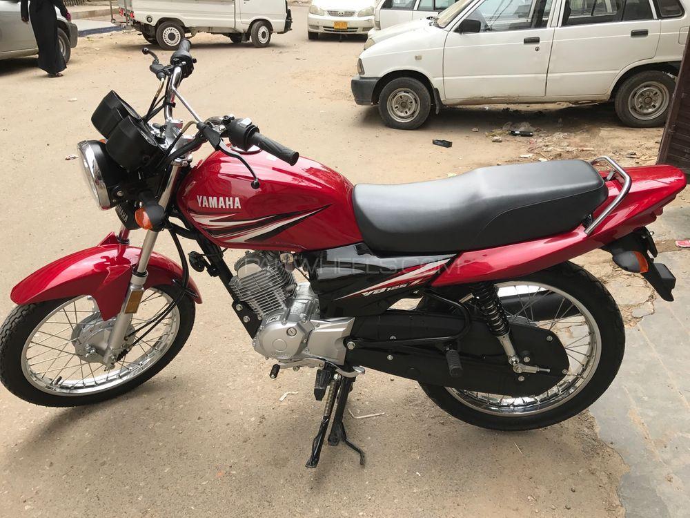 used yamaha ybr 125 2017 bike for sale in karachi 189799 pakwheels. Black Bedroom Furniture Sets. Home Design Ideas