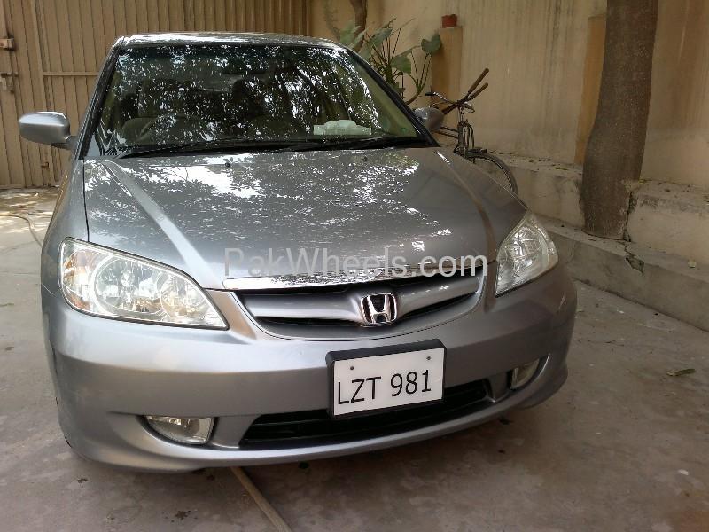 Honda Civic VTi Prosmatec 1.6 2005 Image-3
