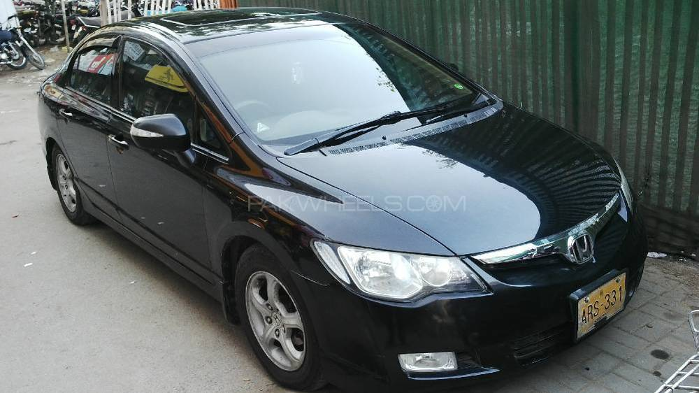 Honda Civic VTi Oriel 1.8 i-VTEC 2008 Image-1