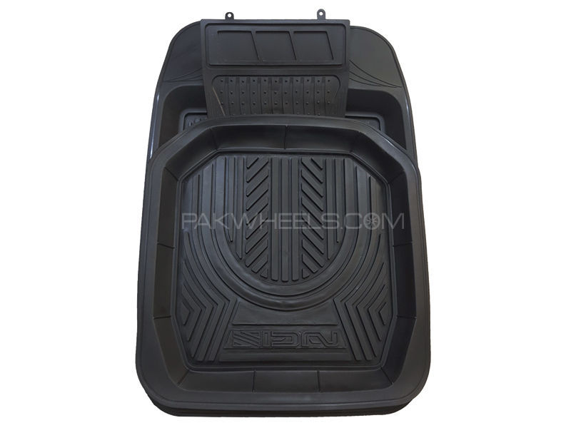 Sign 3D PVC Tray Floor Mats - 5 pcs in Lahore