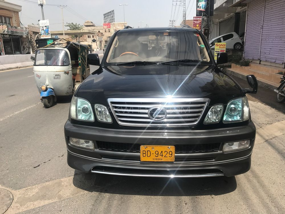 toyota land cruiser vx limited 4 7 2004 for sale in multan. Black Bedroom Furniture Sets. Home Design Ideas