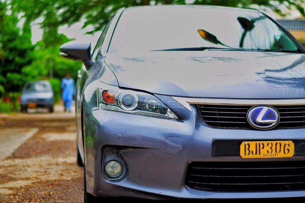 Lexus CT200h F Sport 2013 Image-1