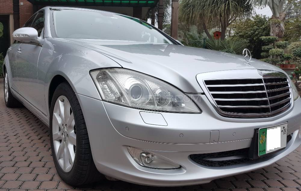 mercedes benz s class s350 2006 for sale in lahore pakwheels. Black Bedroom Furniture Sets. Home Design Ideas