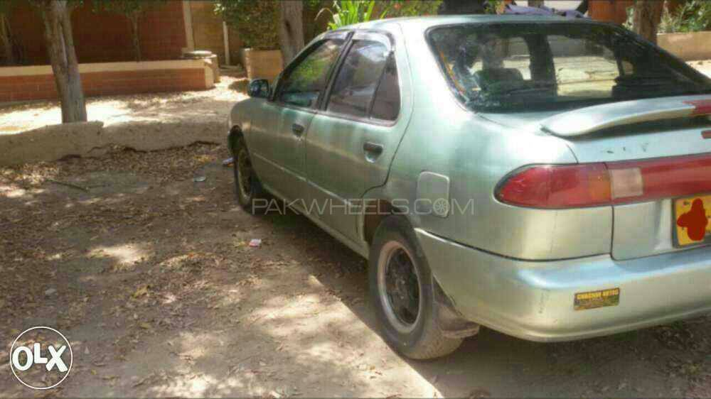 Nissan Sunny EX Saloon 1.6 (CNG) 1997 Image-1