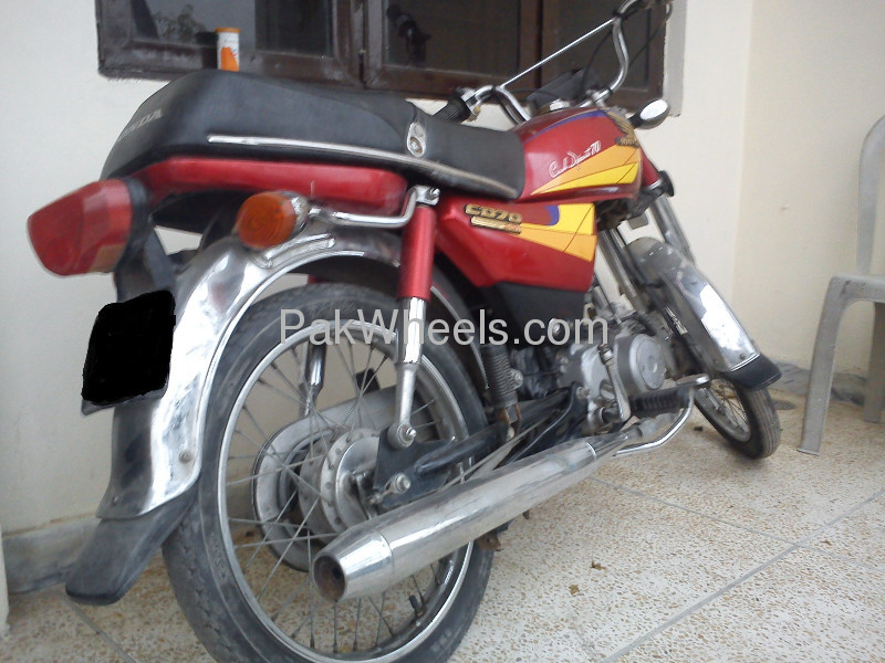 Used Honda CD-70 2003 Bike for sale in Lahore - Used Bike 99786 - 1736463
