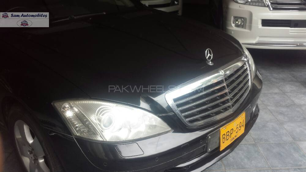 Mercedes benz s class 2007 for sale in karachi pakwheels for Phone number for mercedes benz