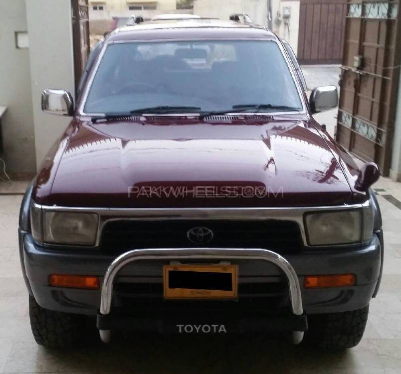 Toyota Suff: Toyota Surf SSR-X 3.0D 1994 For Sale In Karachi