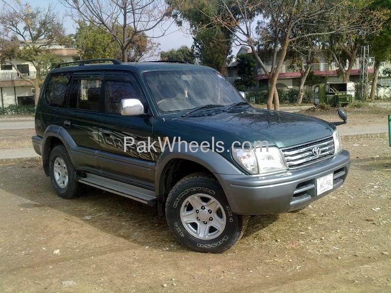 Toyota Prado TX Limited 2.7 1996 Image-2