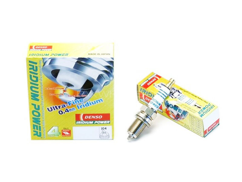 Iridium Spark Plug Genuine Denso IK16- 4pcs in Karachi