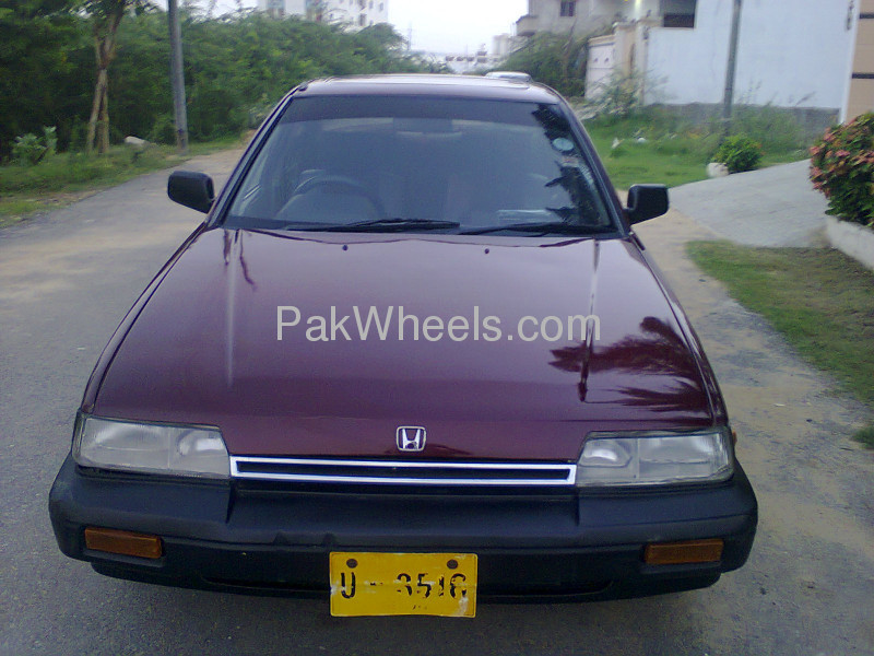 Image 1989 Honda Accord Dx