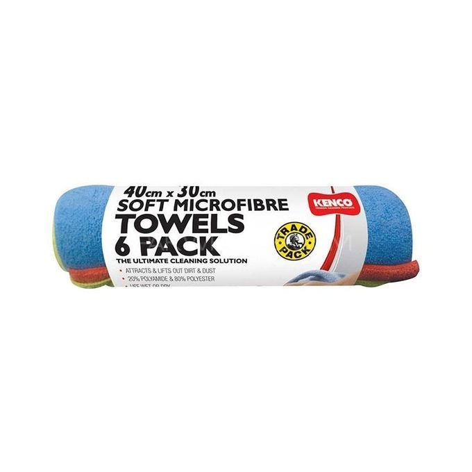 KENCO Microfibre Towels - Pack of 6 Image-1