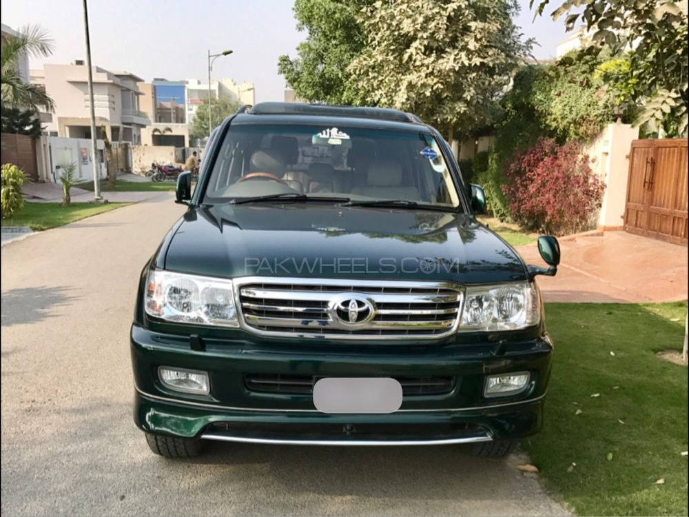 toyota land cruiser amazon 4 2d 2001 for sale in lahore. Black Bedroom Furniture Sets. Home Design Ideas