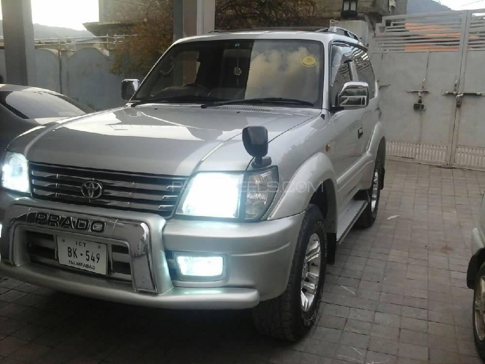 Toyota Prado RZ 3.0D (3-Door) 2001 Image-1