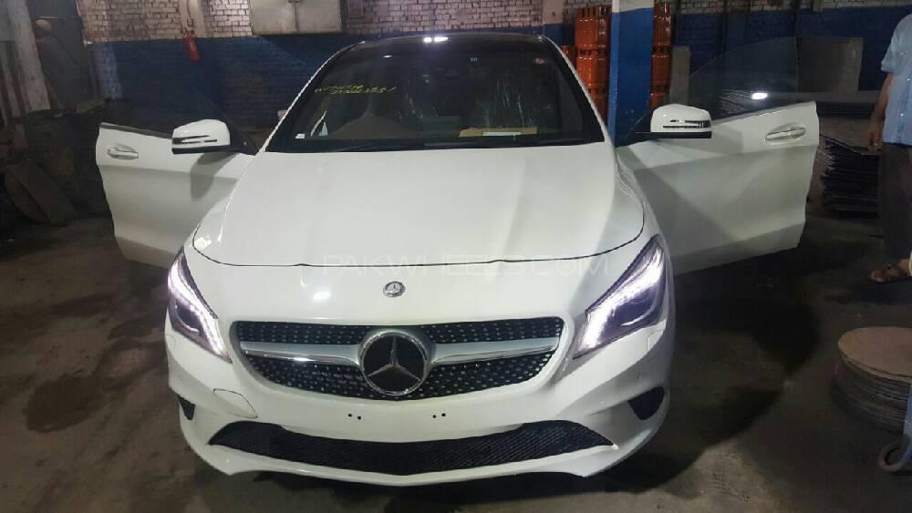 Mercedes Benz CLA Class 2015 Image-1